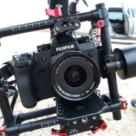 Drone shooting assignment in Camargue for Fujifilm UK, with M600 !