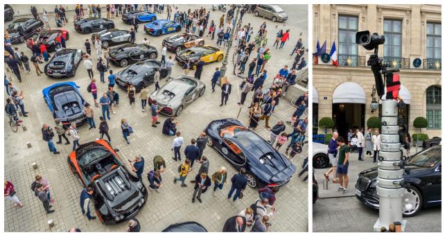 Grand Tour Bugatti 2019 - Paris - DCOMDRONE