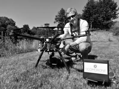 Drone DJI S900 de DCOMDRONE pour des prises de vue aérienne - Photo et Vidéo